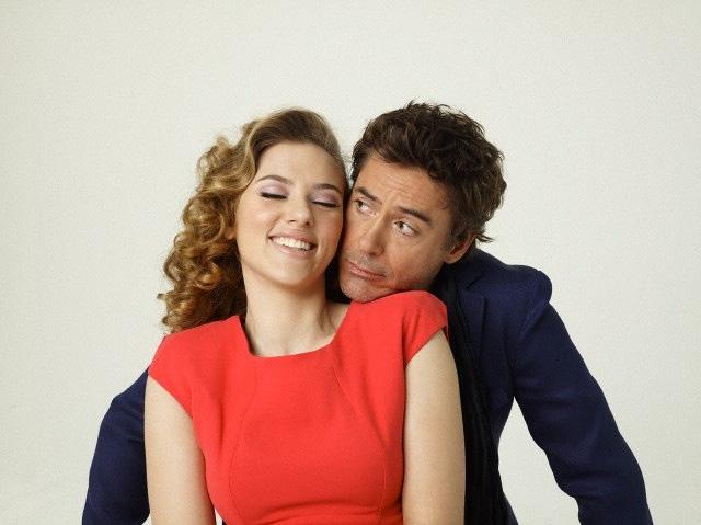 Scarlett Johansson Joins Robert Downey Jr. in Jon Favreau ...