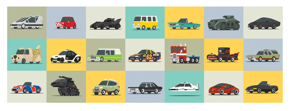 Awesome Movie Cars Fan Art — GeekTyrant Green Lantern Movie Poster