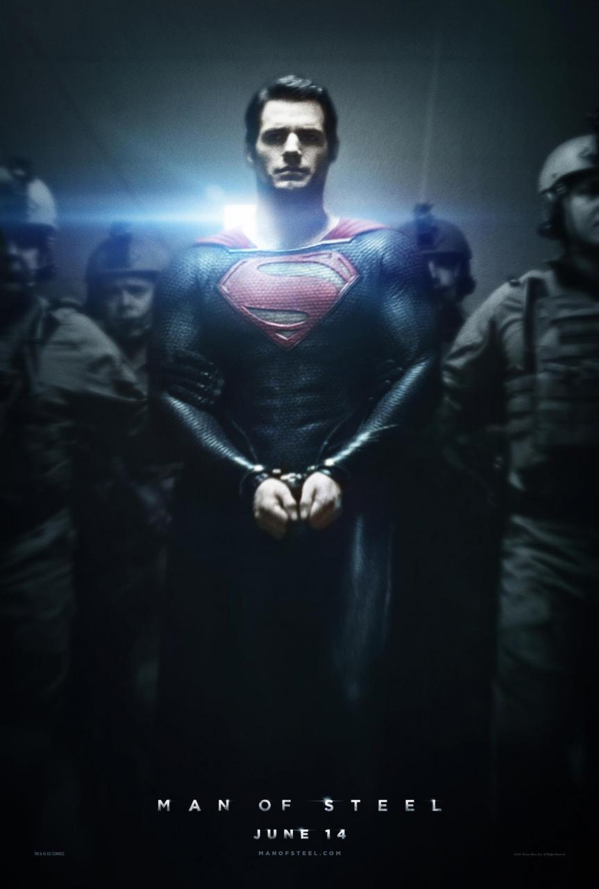 Awesome New MAN OF STEEL Poster! — GeekTyrant