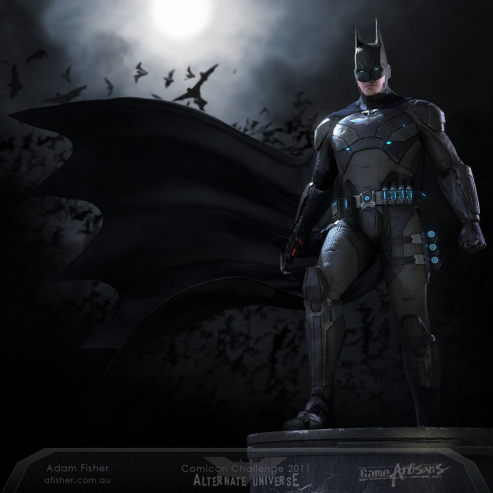 Incredible High Tech Batman Costume Design & Incredible High Tech Batman Costume Design u2014 GeekTyrant