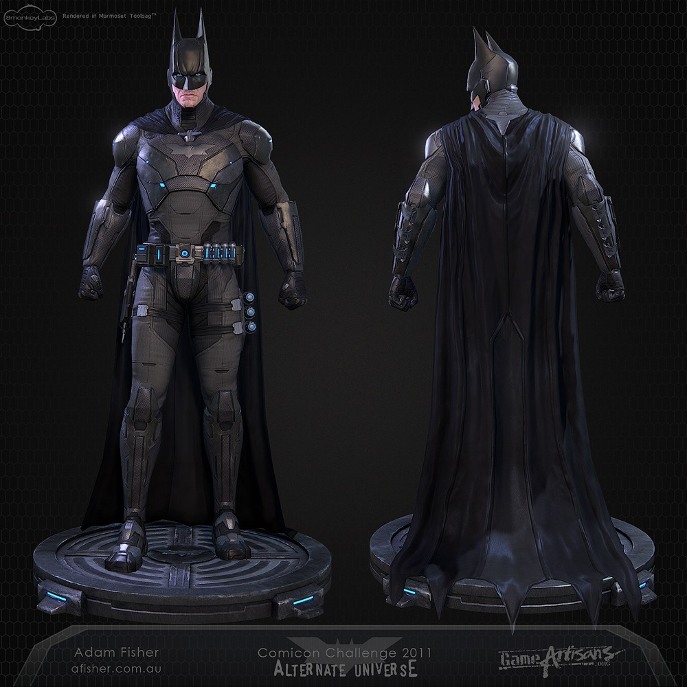 Batman Suit: Incredible High Tech Batman Costume Design