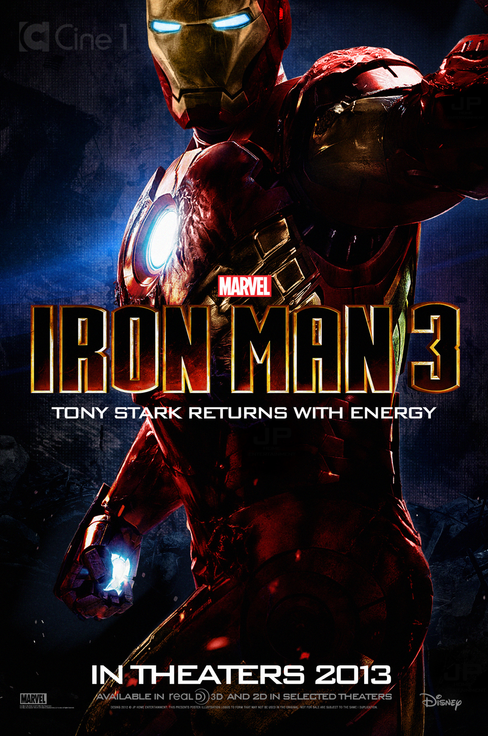 Iron Man 1 Official Poster