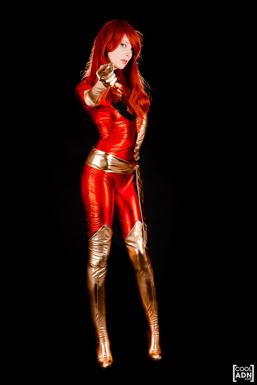 X men phoenix cosplay costume