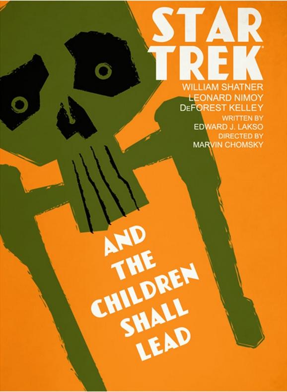 cool new retro star trek series poster designs geektyrant