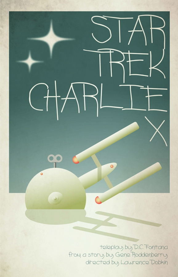 Cool New Retro STAR TREK Series Poster Designs — GeekTyrant