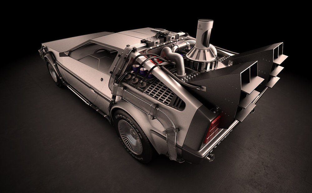 back to the future cg delorean and why a remake would be