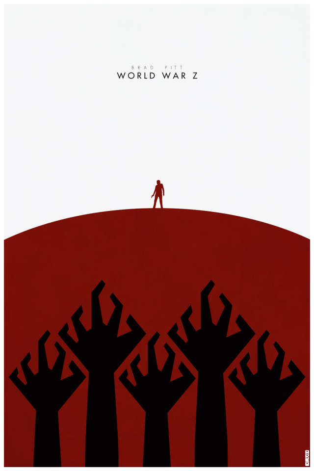Awesome Set Of World War Z Fan Made Poster Art Geektyrant