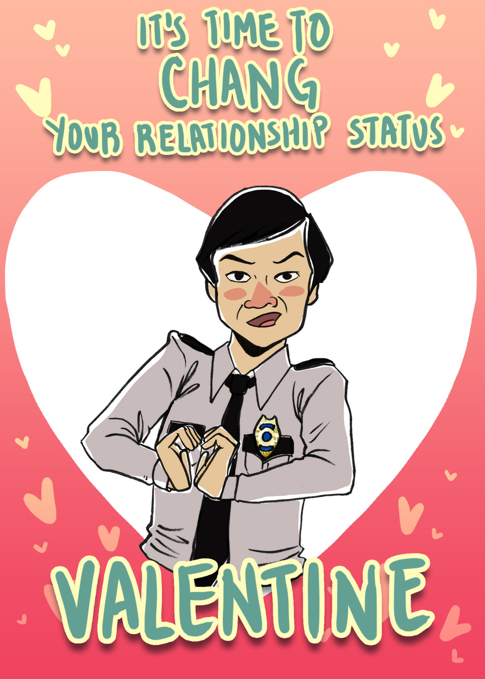 Funny COMMUNITY Themed Valentines Day Cards GeekTyrant – Weird Valentines Cards