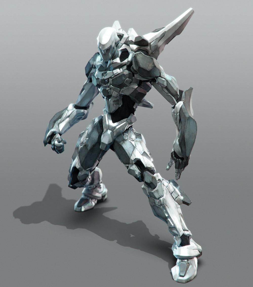 Anime Robot: Fun, Sexy, Cool, And Weird Anime Digital Art