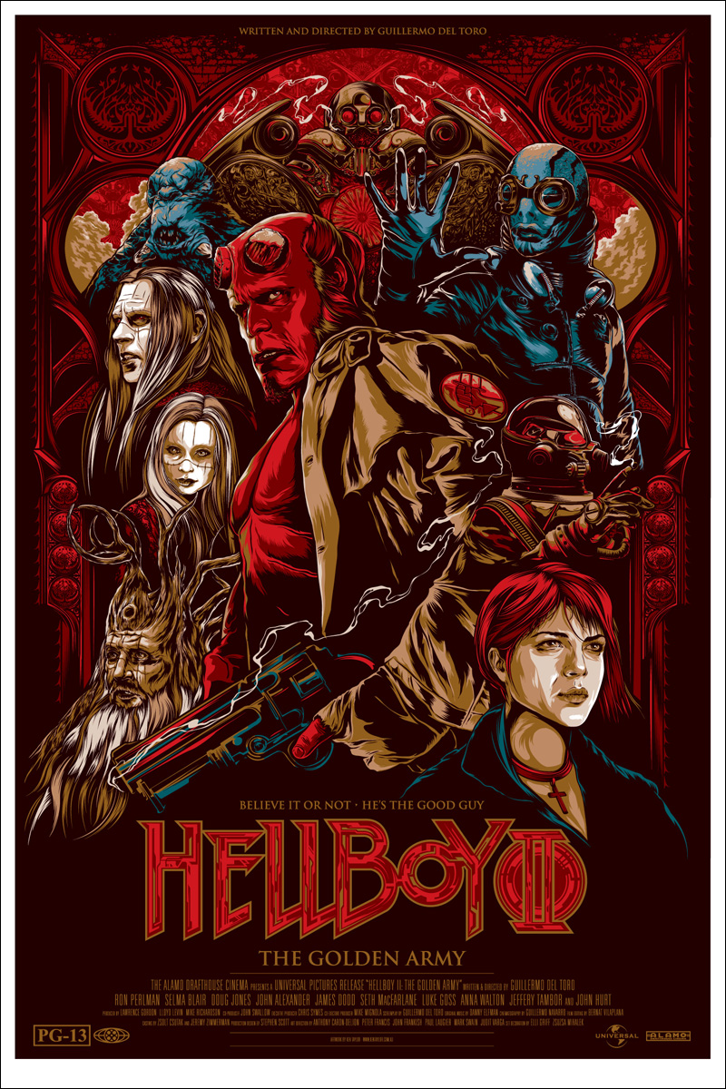 mondo will release hellboy and hellboy 2 posters in the
