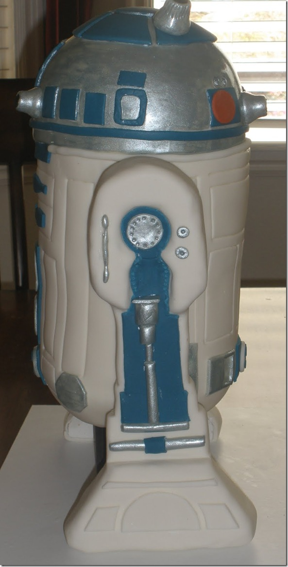 Check Out This R2d2 Cake Geektyrant