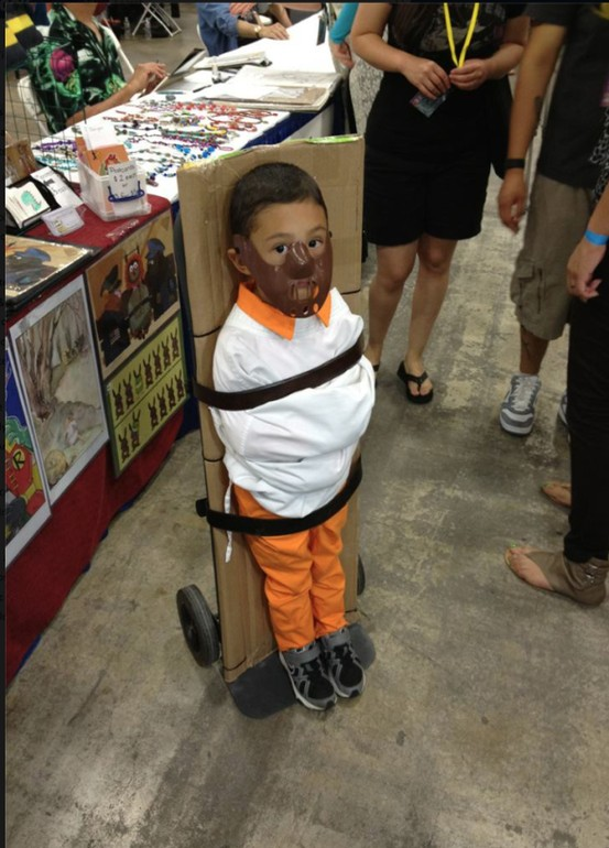 Child Dressed Up As Hannibal Lecter is Rather Adorable — GeekTyrant