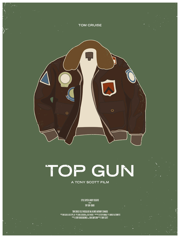 Geek Art 10 Movie Posters Inspired By Men S Style