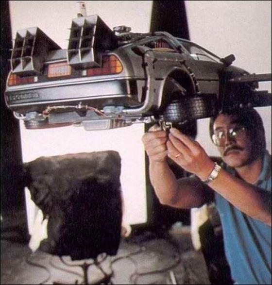 Rodaje de Regreso al Futuro : Imágenes detrás de las cámaras Behind_the_scenes_06