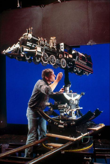 Rodaje de Regreso al Futuro : Imágenes detrás de las cámaras Behind_the_scenes_53