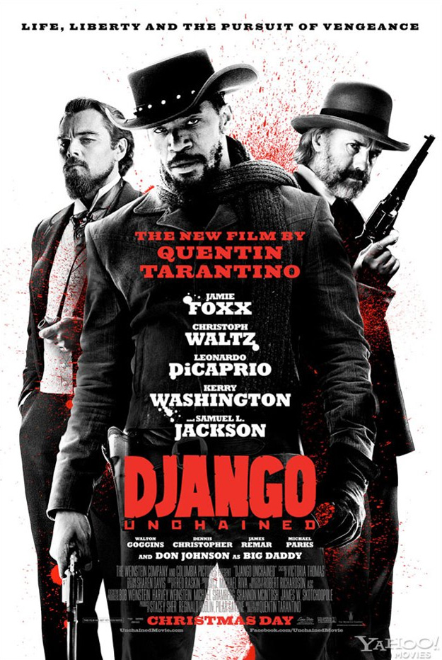 new poster for quentin tarantinos django unchained