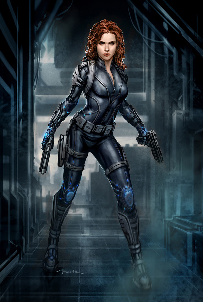More Cool Character Concept Art For The Avengers Geektyrant