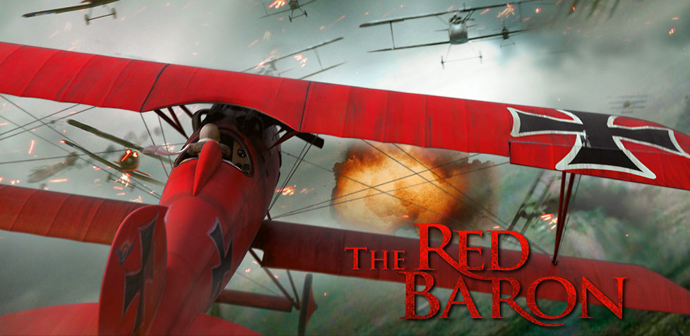 official trailer for the red baron which features some