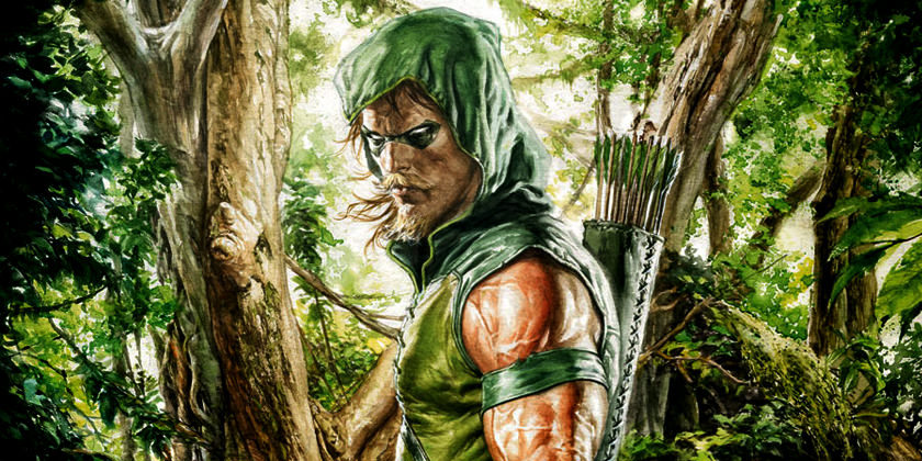 5) Green Arrow: SUPERMAX