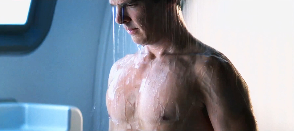 Benedict cumberbatch star trek shower