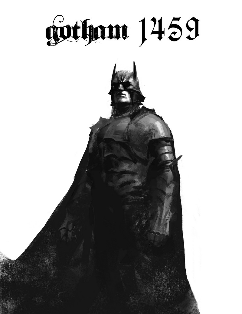 Artist Igor Kieryluk is currently working on a person Batman inspired art  project called Gotham 1459. So far he's created this medieve gothic looking  Batman ...