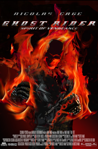 Ghost Rider Spirit Of Vengeance Cool New Movie Posters