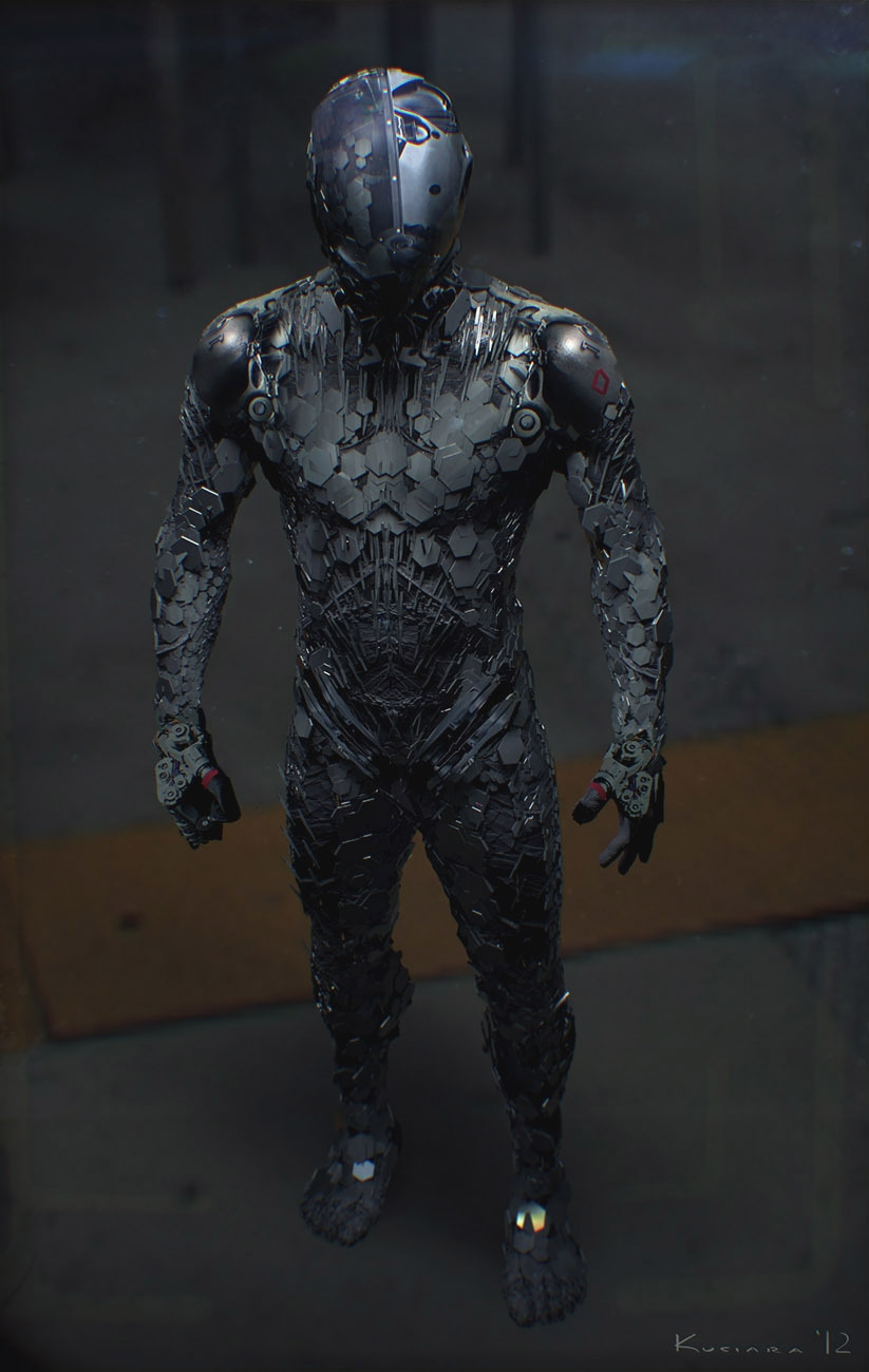 Awesomely Detailed Futuristic Sci Fi Suit Designs Geektyrant