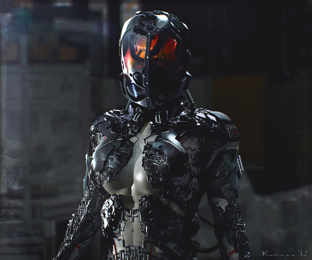 detailed space suit - photo #13