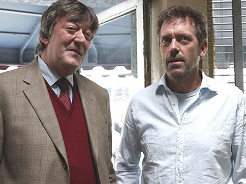 Hugh Laurie and Stephe...