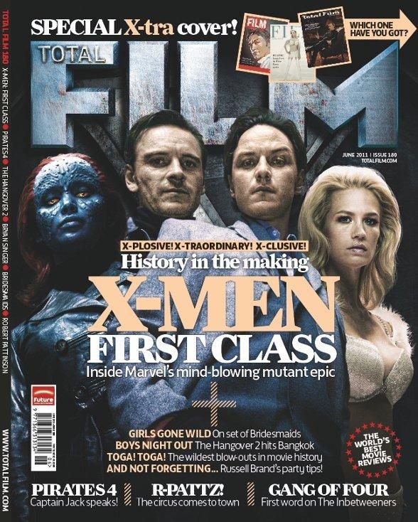 Retro Style X-MEN: FIRST CLASS Total Film Magazine Covers — GeekTyrant