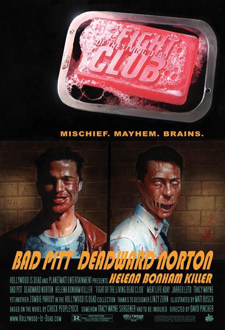 zombified movie poster art � geektyrant