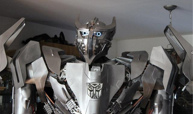 Impressive Custom Made Transformers Costume Geektyrant