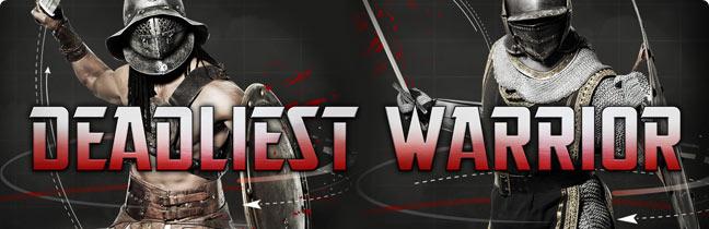 DEADLIEST WARRIOR Coming to the Big Screen — GeekTyrant