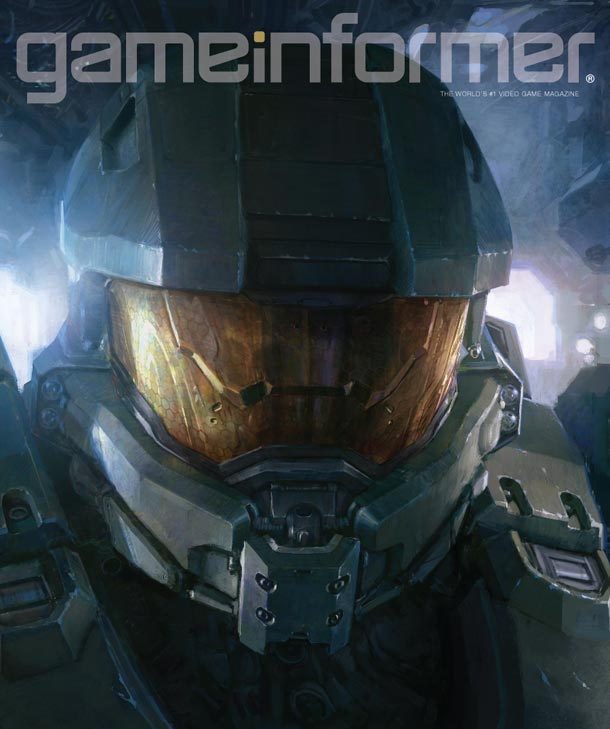 Awesome HALO 4 Art featuring Master Chief and Cortana