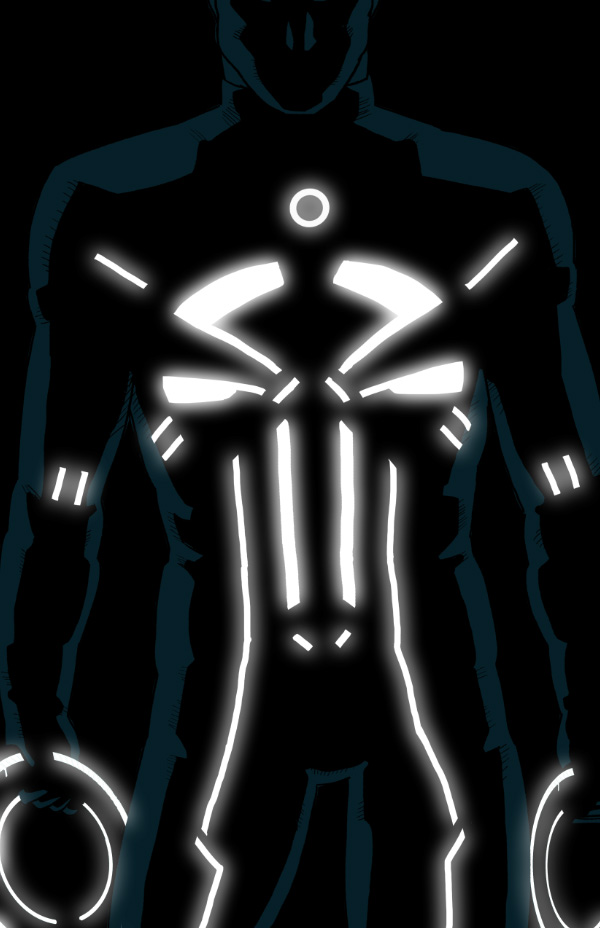 23 tron style marvel characters by kristafer anka � geektyrant