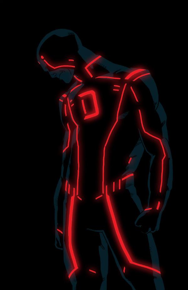 23 Tron Style Marvel Characters By Kristafer Anka Geektyrant