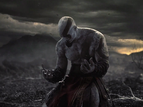 God of war ascension awesome live action trailer geektyrant