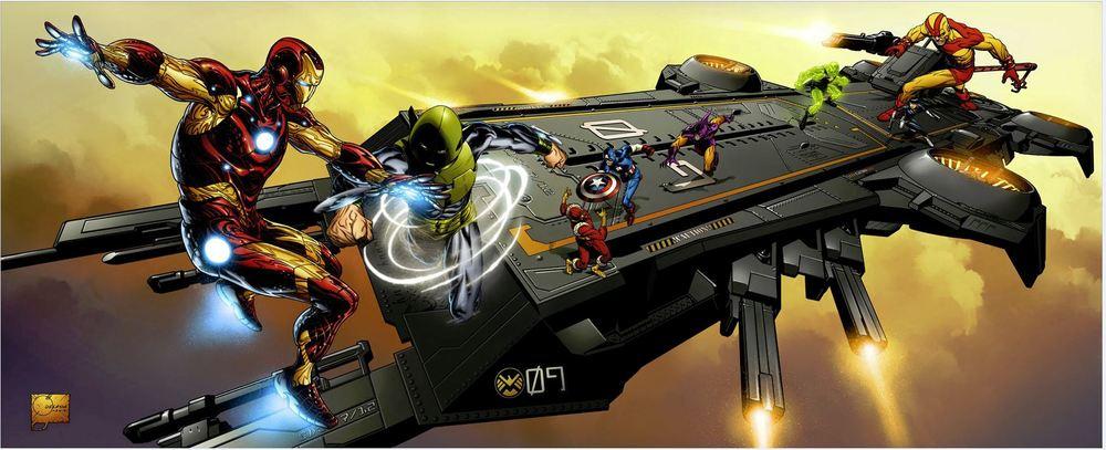 Hasbro Announces Super Helicarrier As Comic Con Exclusive