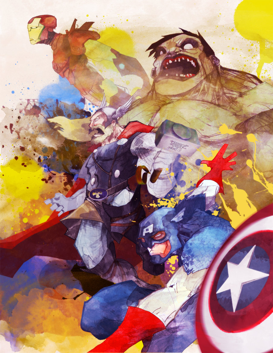 1000  ideas about Marvel Canvas Art on Pinterest | Super heroes ...