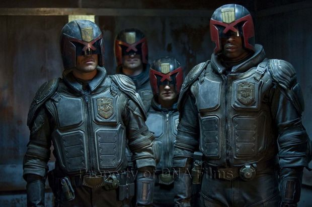 dredd new poster arrives from cannes � geektyrant