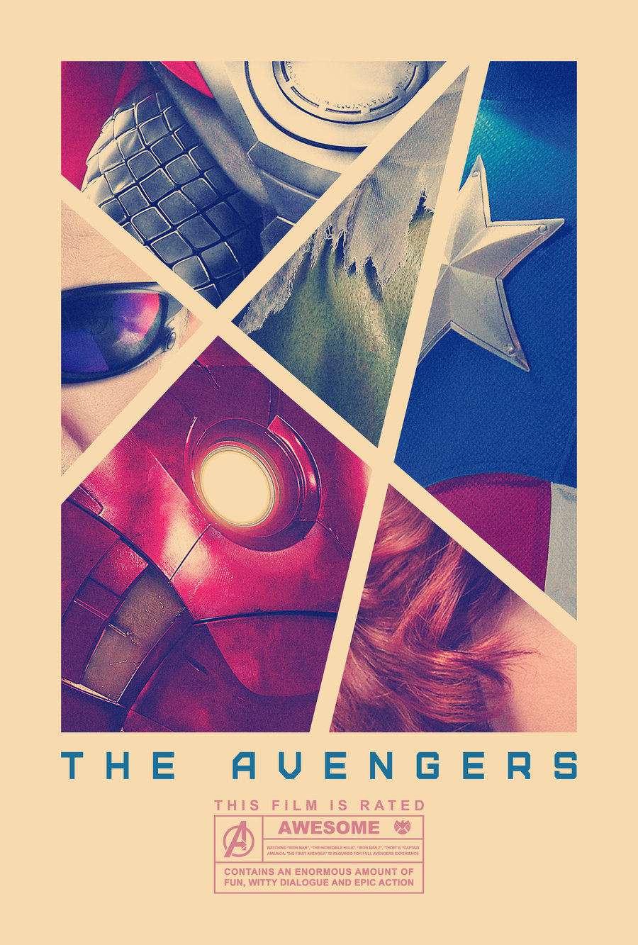 Incredibly Cool Fan-Made AVENGERS Poster Art — GeekTyrant