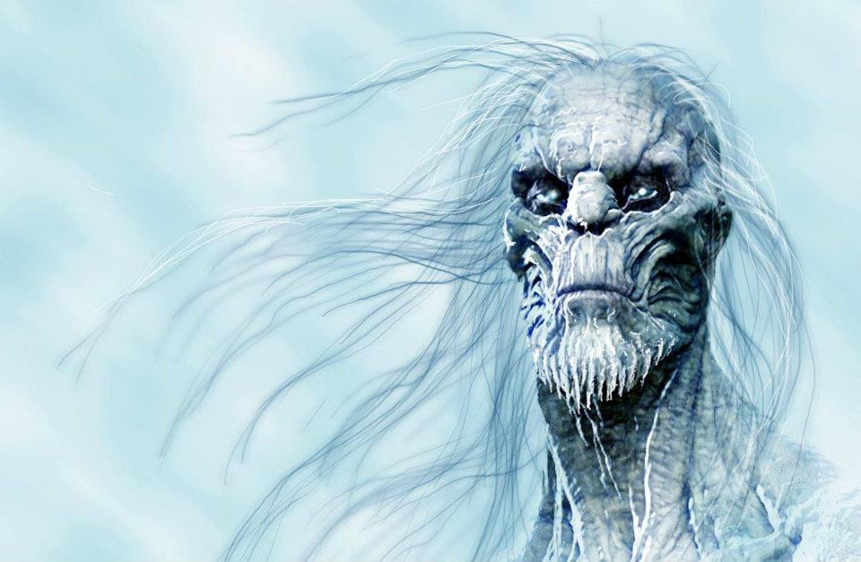 I Loved The End Of Second Season Game Thrones With Introduction Awesome White Walkers From Beyond Wall These Concept Designs Were