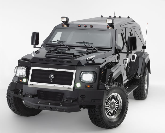 Luxury Armored Vehicles: Must Have Urban Assault Vehicle For The Apocalypse