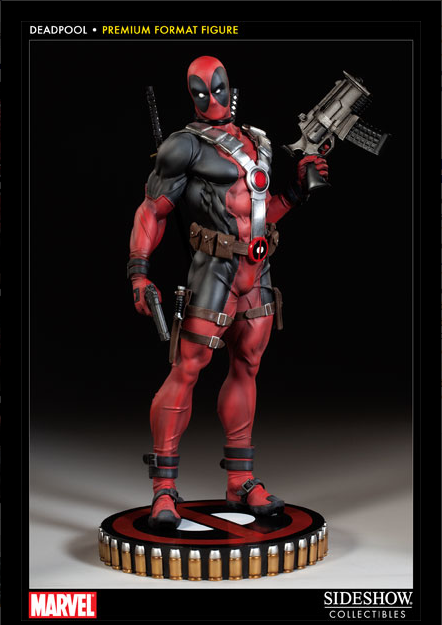Awesome deadpool statue from sideshow collectibles for Headpool