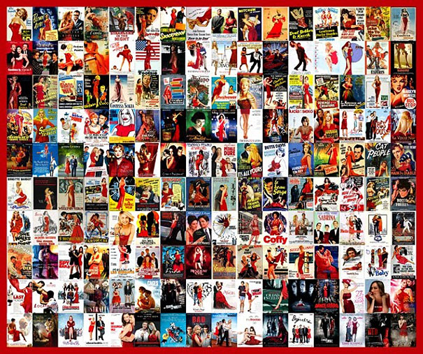 Collage of Movie Posters Movie Poster Collages
