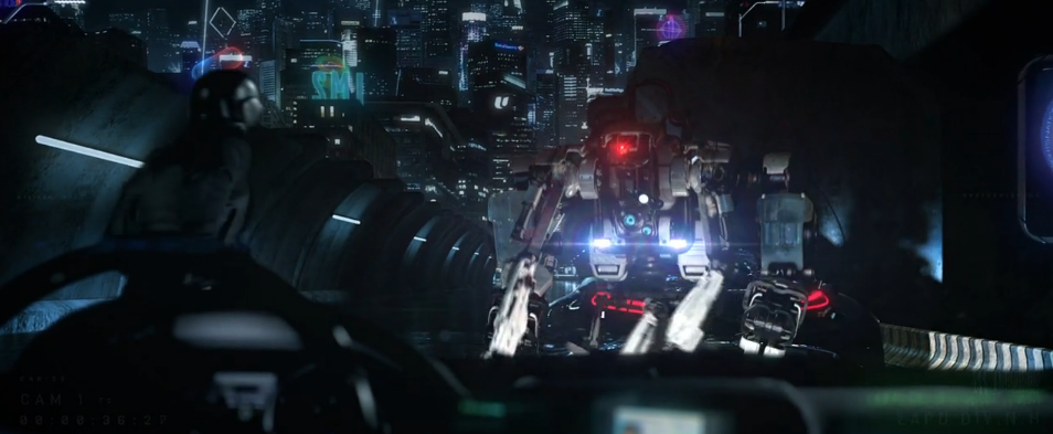 Amazingly Cool Teaser for the Sci-Fi Film 2088