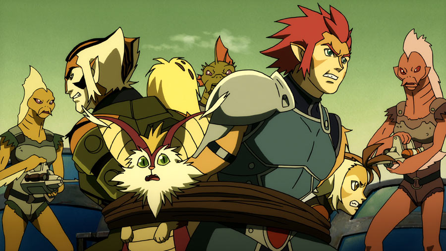 THUNDERCATS Animated Series - New Clips and Images ...