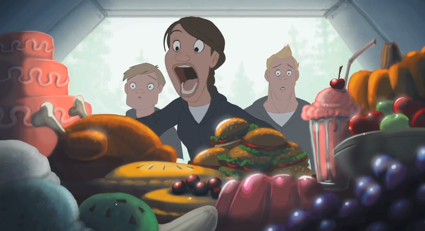 Dreamworks Animator David Stodolny Used Some Of His Free Time Over The Last Few Months To Create This Funny Yet Twisted Hunger Games Animated Parody Called