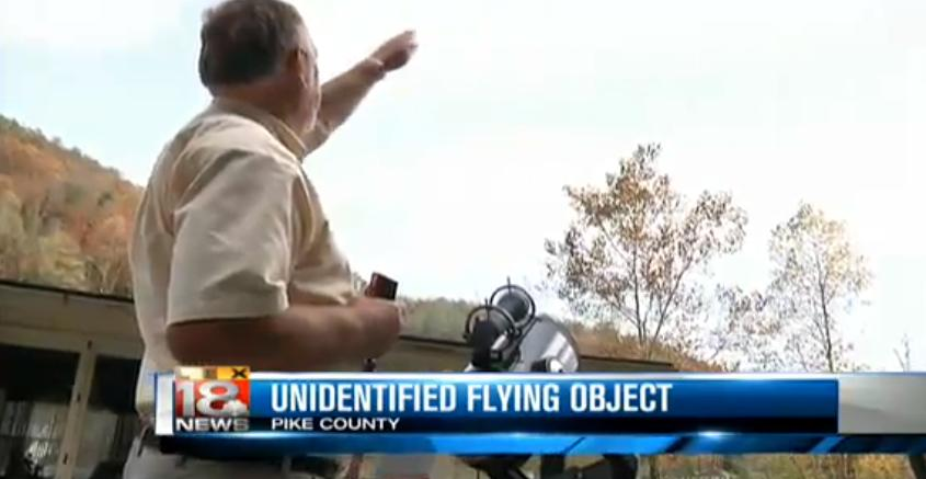 UFO Spotted By Several In Pike County Kentucky — GeekTyrant