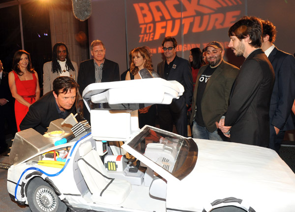 back to the future 25th anniversary party